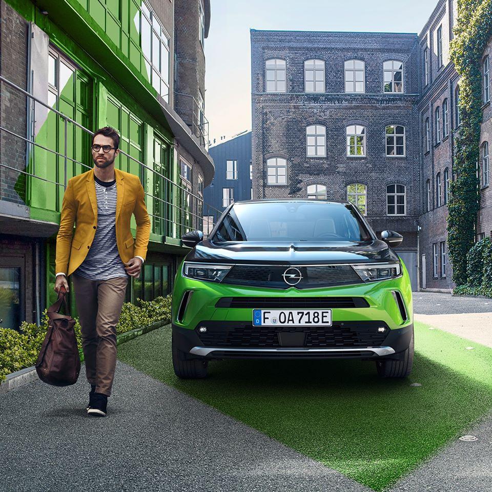 Audacieuse et pure. La nouvelle #OpelMokka.