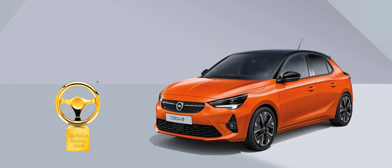 La nouvelle Opel Corsa-e remporte le 'Volant d'Or 2020'