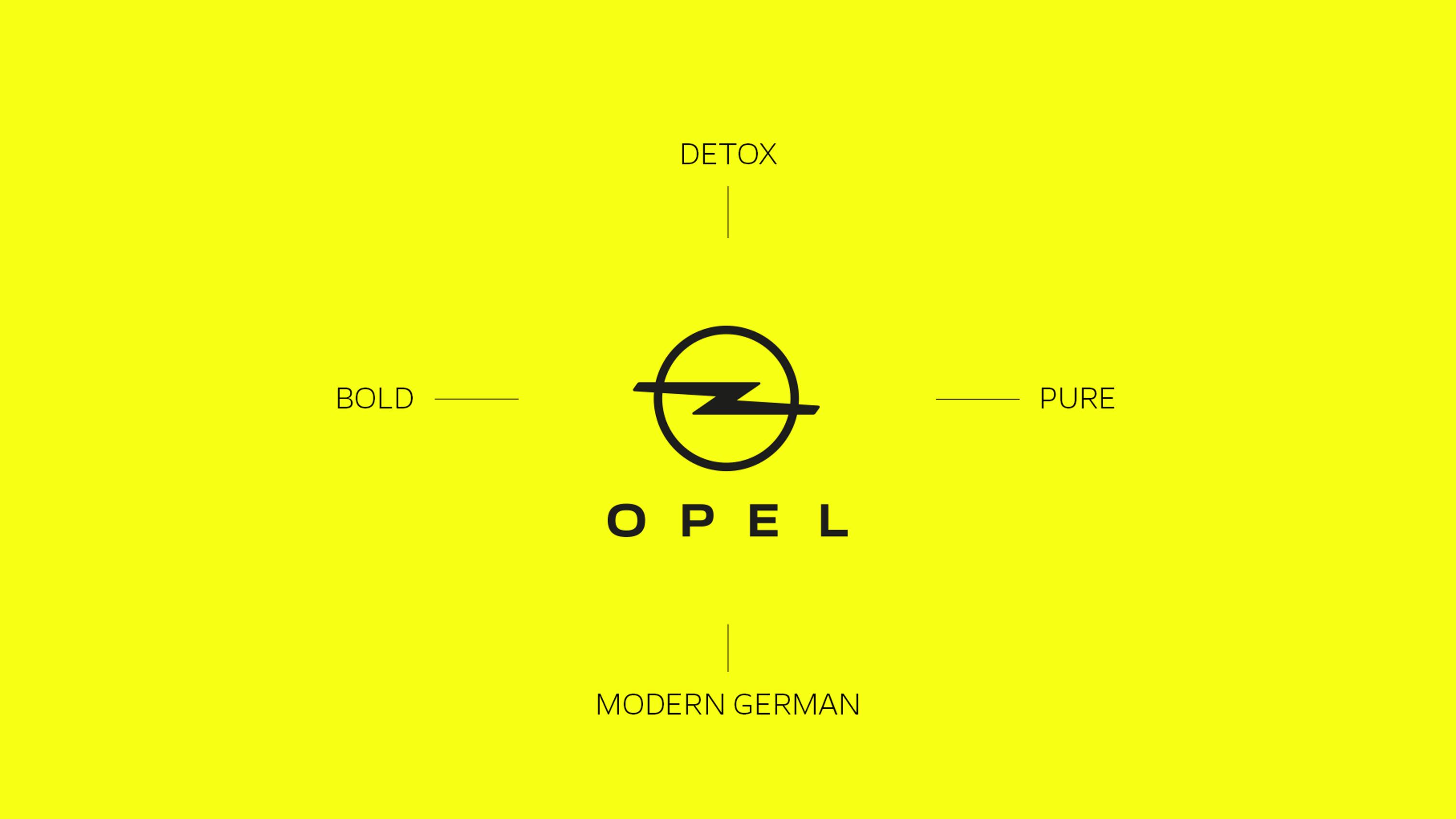 Identité visuelle de Marque : Opel modernise son image